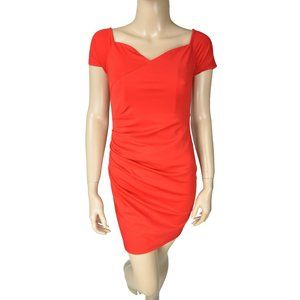 Dresses & Skirts - Red Bodycon Stretch Off Shoulder Dress